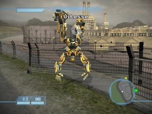 Test Transformers Le Jeu PlayStation 2 - Screenshot 2