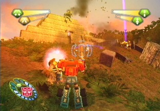 Test Transformers PlayStation 2 - Screenshot 23