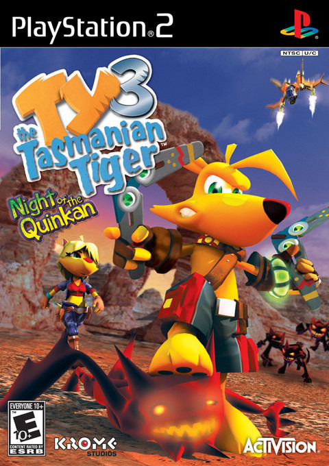 Konu: Ty the Tasmanian Tiger Collection [NTSC-US] PS2