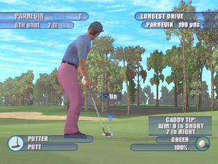 Test Tiger Woods PGA Tour 2003 PlayStation 2 - Screenshot 4