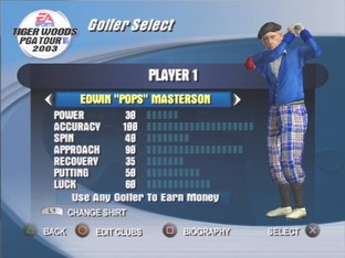 Test Tiger Woods PGA Tour 2003 PlayStation 2 - Screenshot 6
