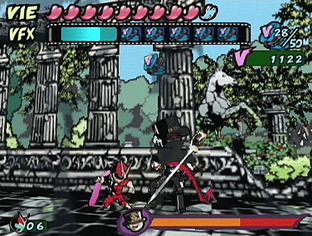 Test Viewtiful Joe PlayStation 2 - Screenshot 11