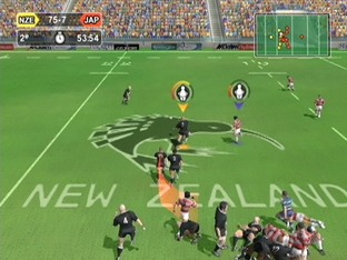 Test World Championship Rugby PlayStation 2 - Screenshot 11