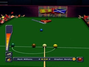 Test World Championship Snooker 2002 PlayStation 2 - Screenshot 5