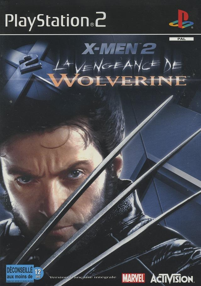 x men 2 la vengeance de wolverine sur playstation 2. Black Bedroom Furniture Sets. Home Design Ideas