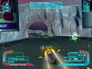 Test XGRA : Extreme-G Racing Association PlayStation 2 - Screenshot 7
