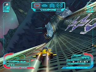 Test XGRA : Extreme-G Racing Association PlayStation 2 - Screenshot 8