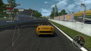 Test Absolute Supercars PlayStation 3 - Screenshot 1