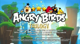 Test Angry Birds Trilogy PlayStation 3 - Screenshot 13