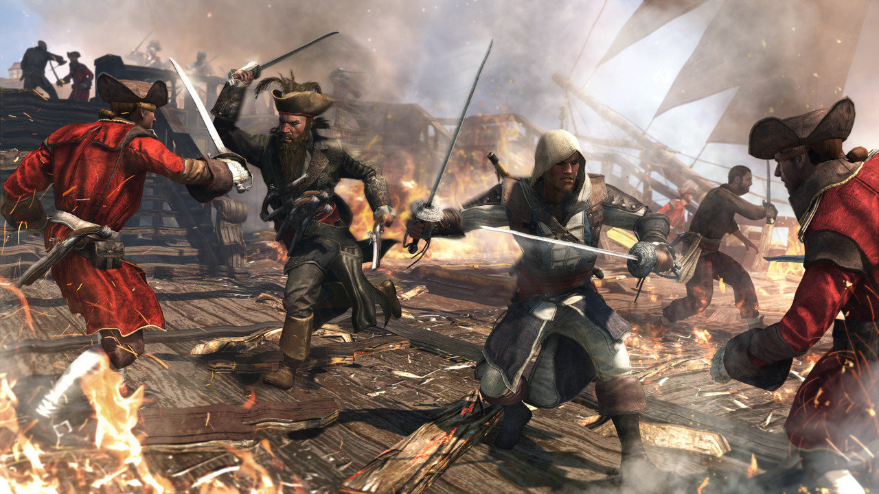 Assassins Creed IV Black Flag   REPACK   MULTI17   5.35 GB