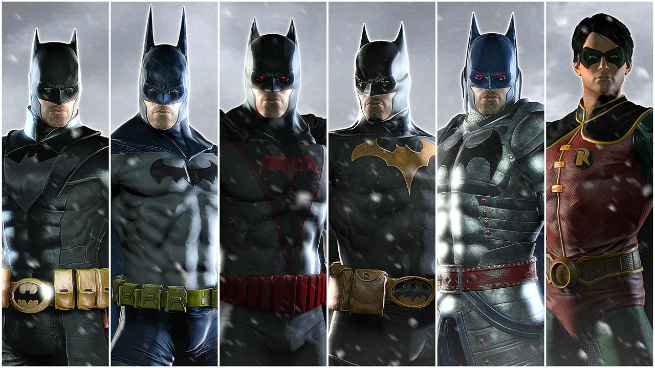 Batman Arkham Origins Skins Xbox 360 Des tenues et d...