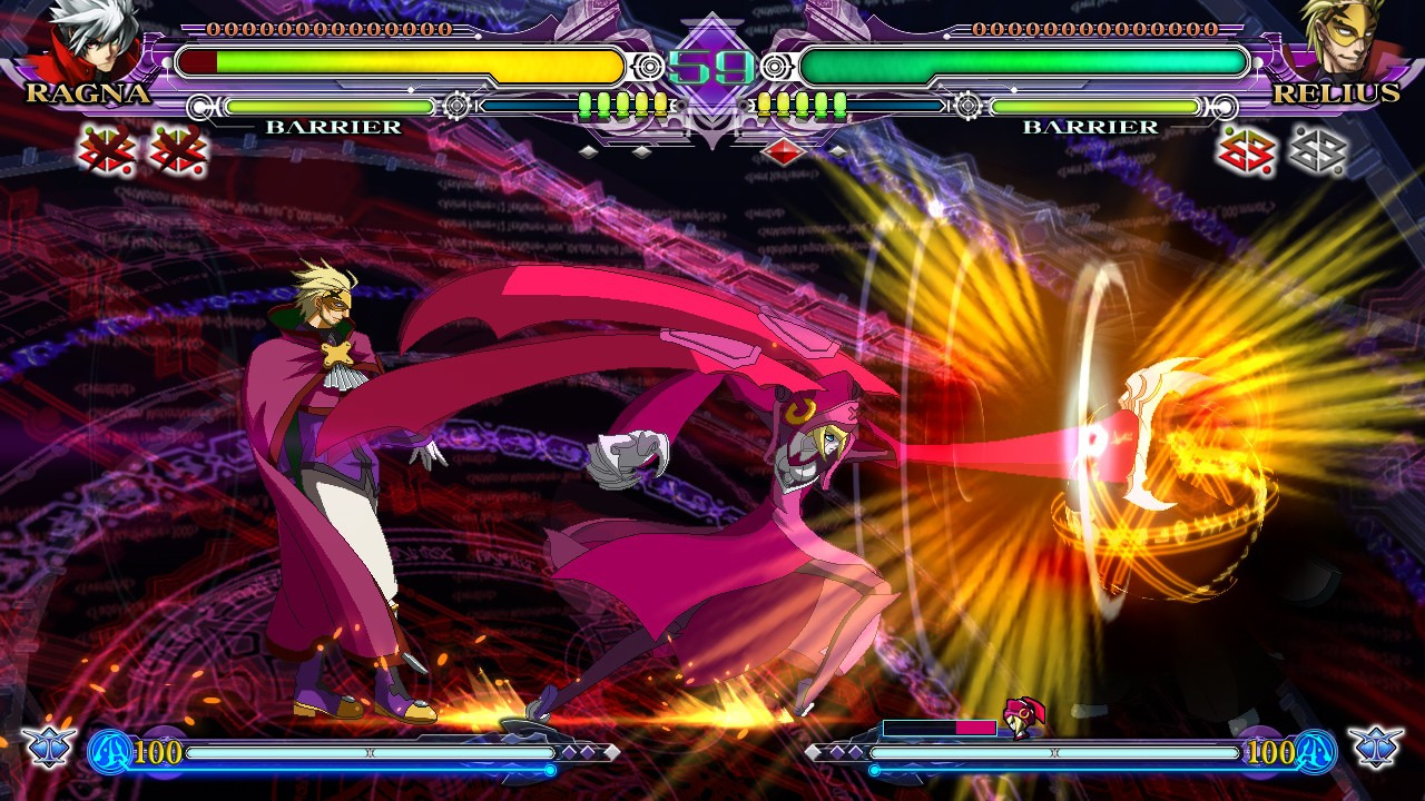 blazblue continuum shift extend iso