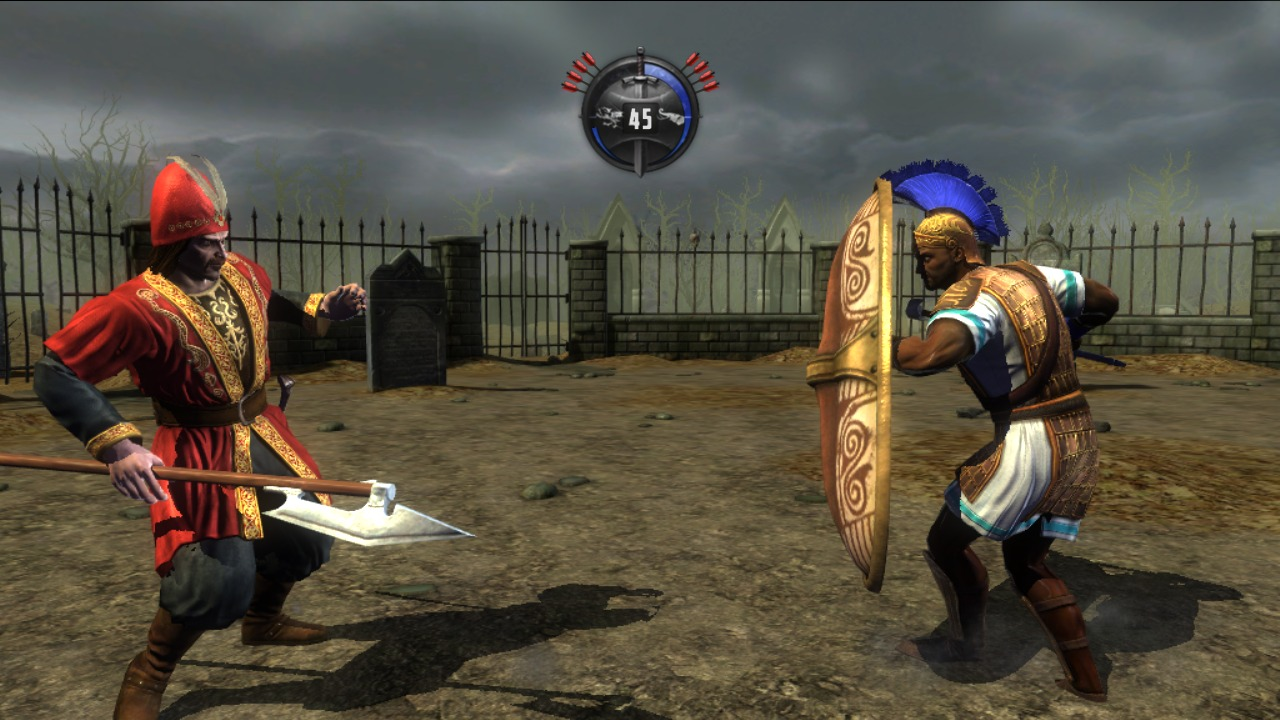 Images Deadliest Warrior : Ancient Combat PlayStation 3 - 31