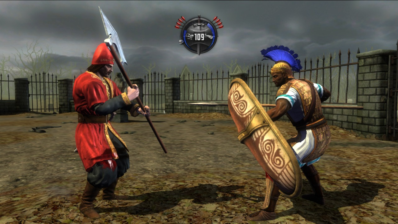 Images Deadliest Warrior : Ancient Combat PlayStation 3 - 33