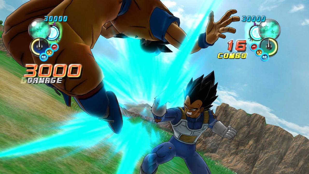 Vegeta est dangereux dans Dragon Ball Z Ultimate Tenkaichi