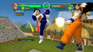 Test Dragon Ball Z : Budokai HD Collection PlayStation 3 - Screenshot 15