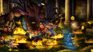Images de Dragon's Crown : Le Guerrier en action