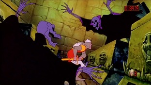 Test Dragon's Lair PlayStation 3 - Screenshot 3