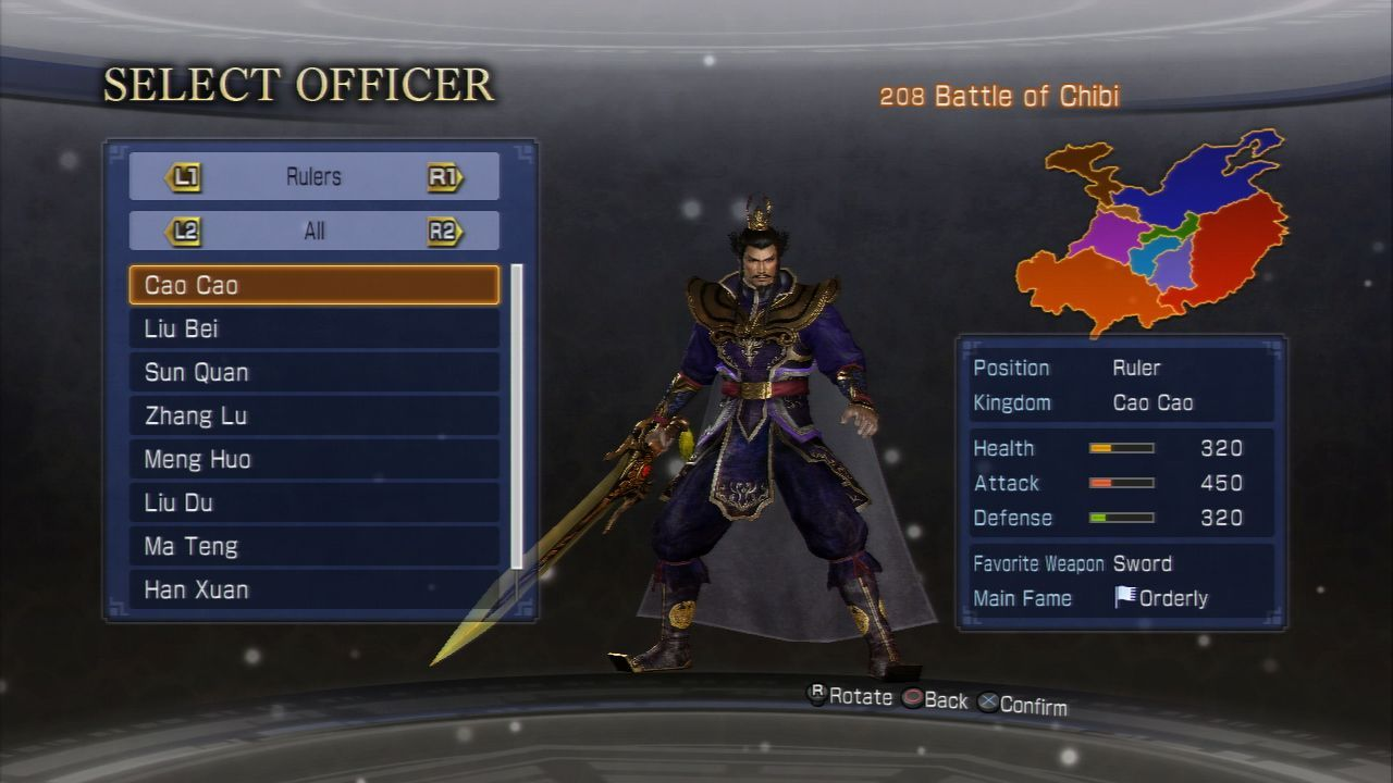 Images Dynasty Warriors 7 Empires PlayStation 3 - 94