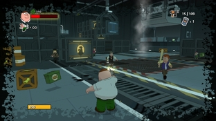 Test Family Guy : Back to the Multiverse PlayStation 3 - Screenshot 24