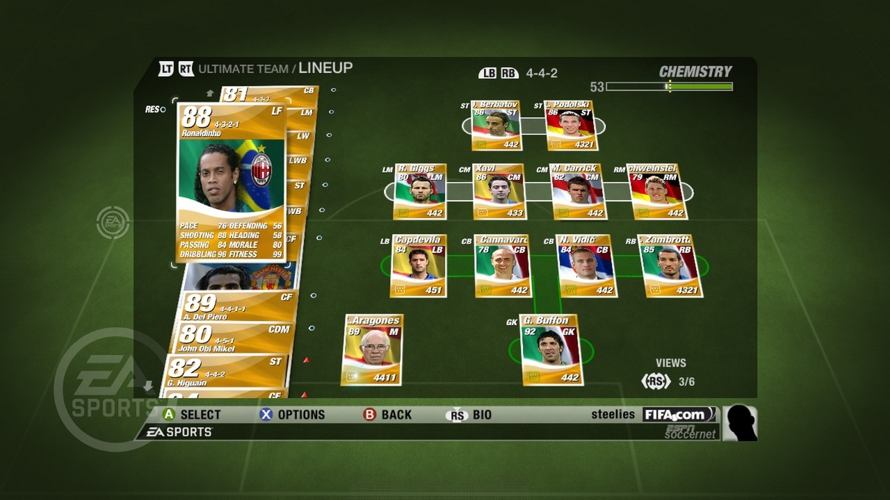 FIFA 09 : Ultimate Team