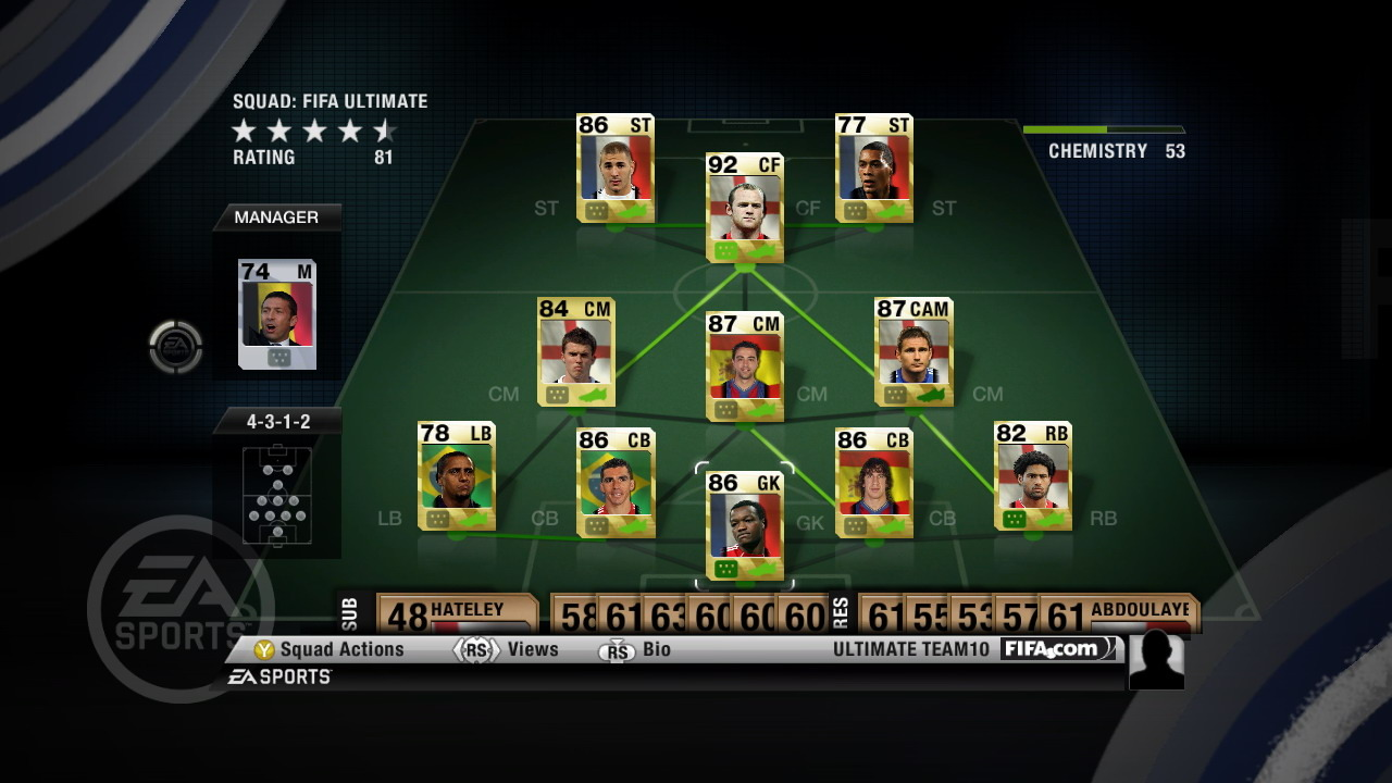 FIFA 10 : Ultimate Team