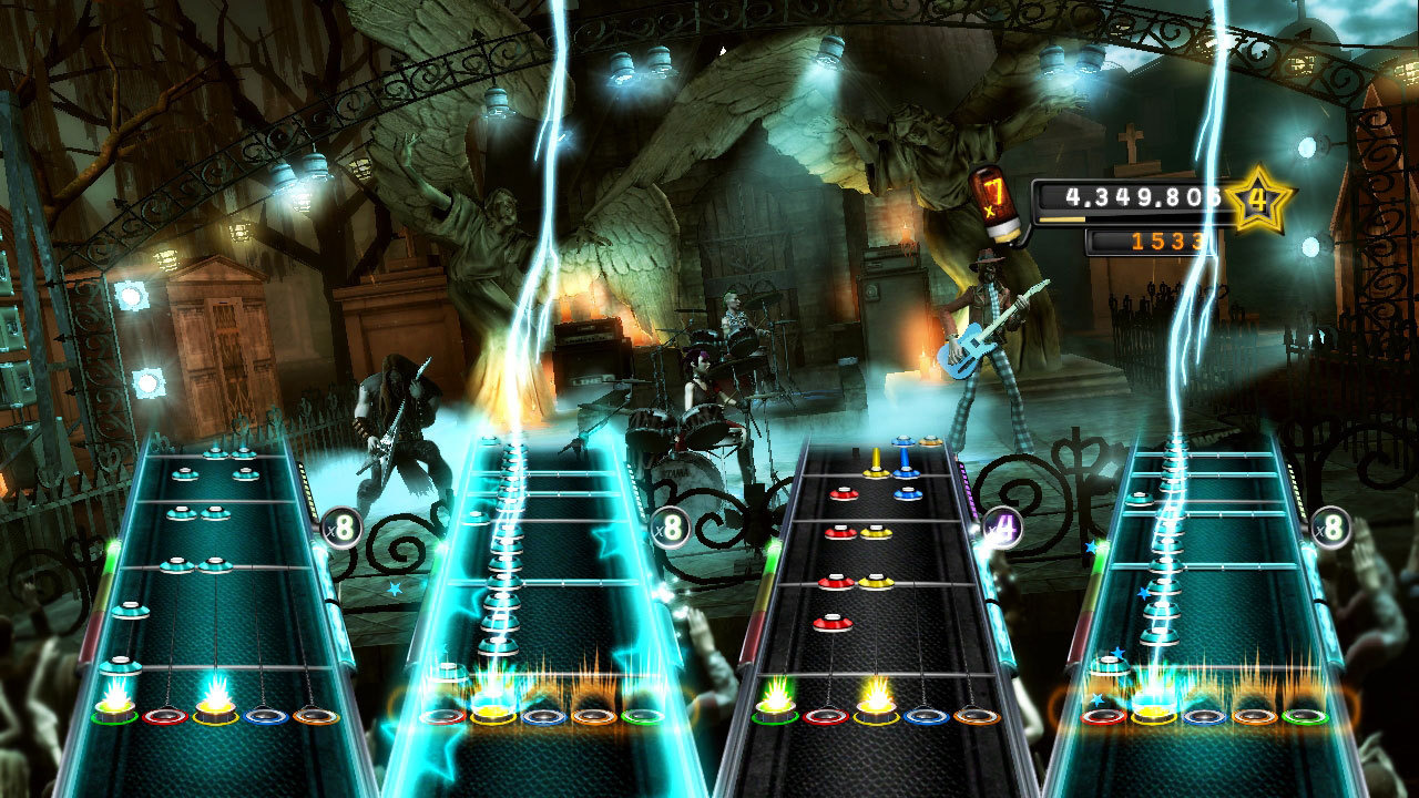 guitar hero v ps2 ps3 360 wii. Black Bedroom Furniture Sets. Home Design Ideas