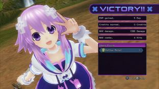 Test Hyperdimension Neptunia Victory PlayStation 3 - Screenshot 187