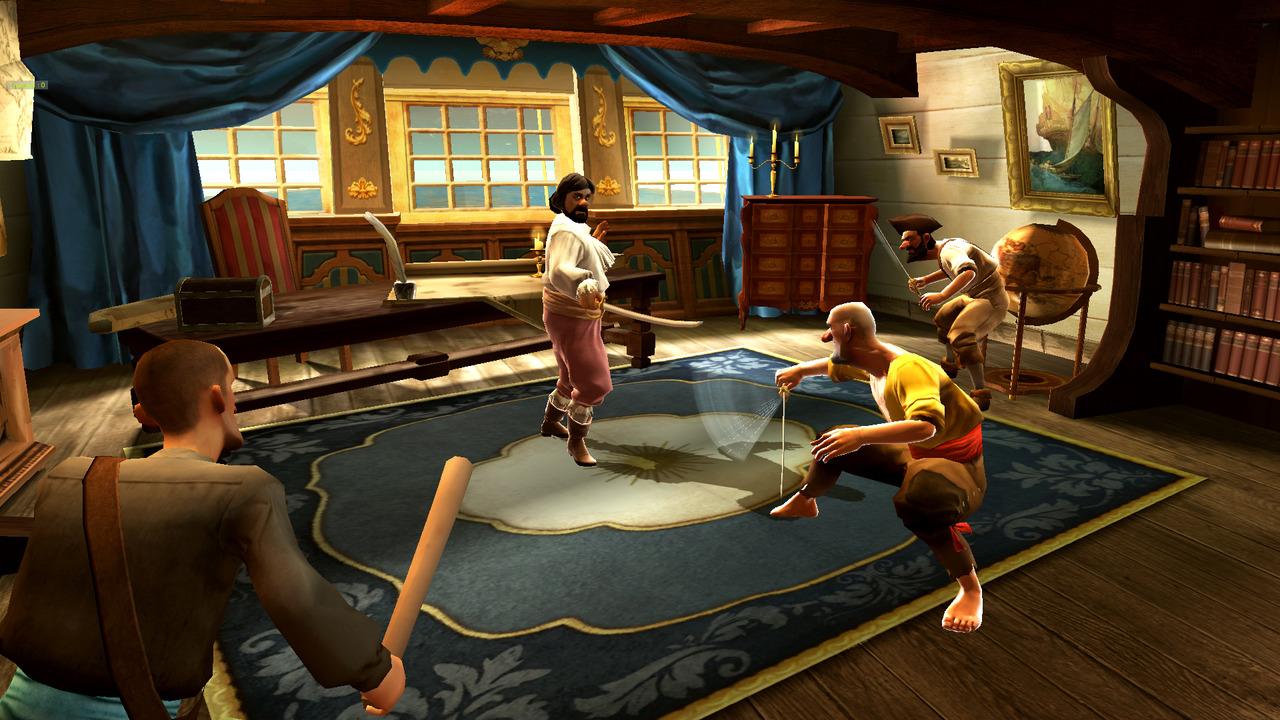 Images Les Aventures de Tintin : Le Secret de la Licorne PlayStation 3