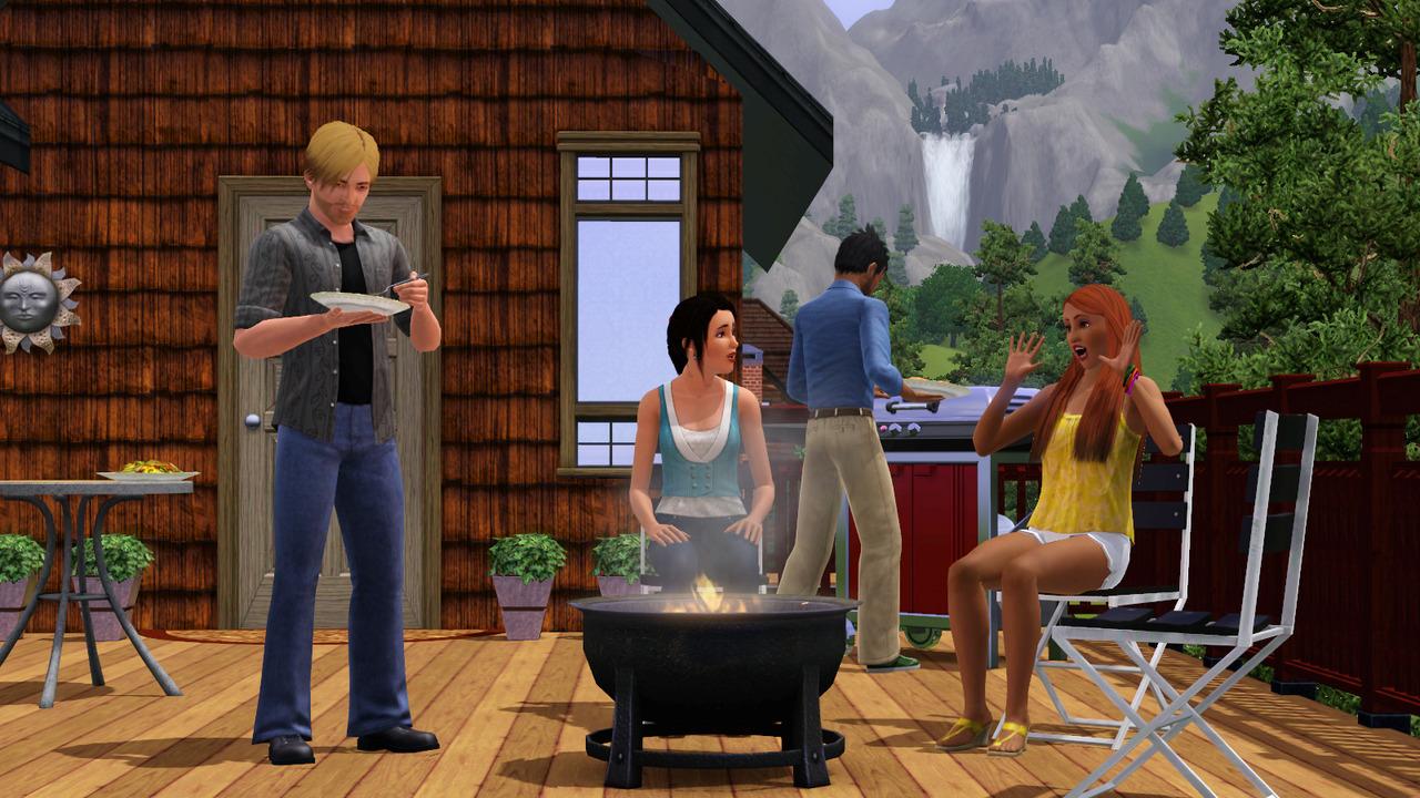 Les sims 3 for Construire une maison sims 3 xbox 360