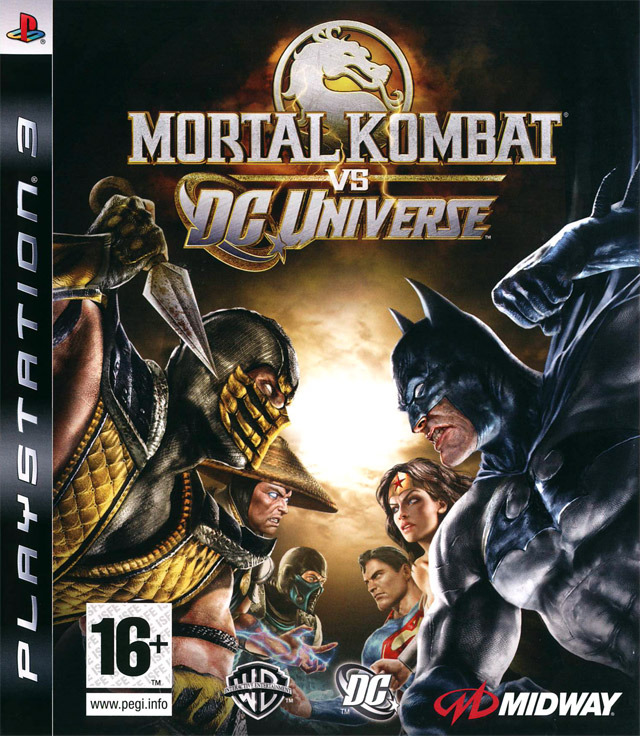 [US] [FS]Mortal Kombat vs DC Universe [PS3- Multi]