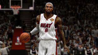 NBA 2K14 : Des images de LeBron James