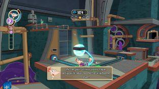 Test Phineas et Ferb : Voyage dans la Deuxième Dimension PlayStation 3 - Screenshot 1