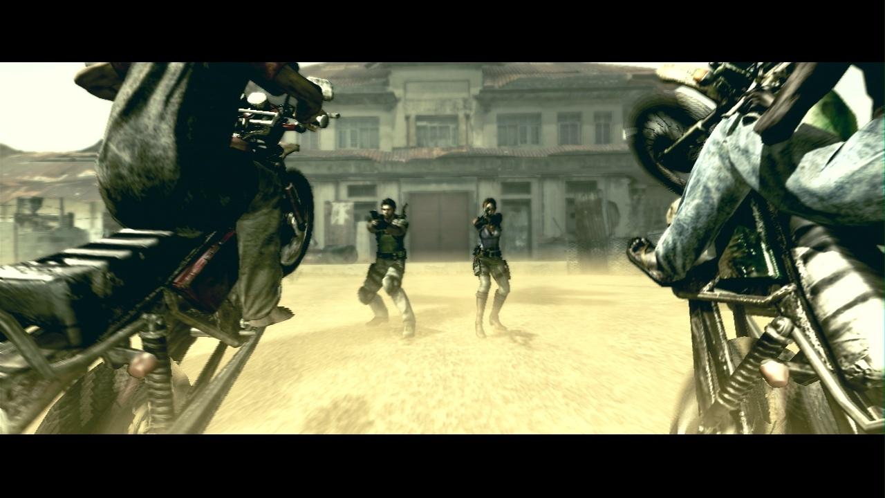 RE 5 scène d'action