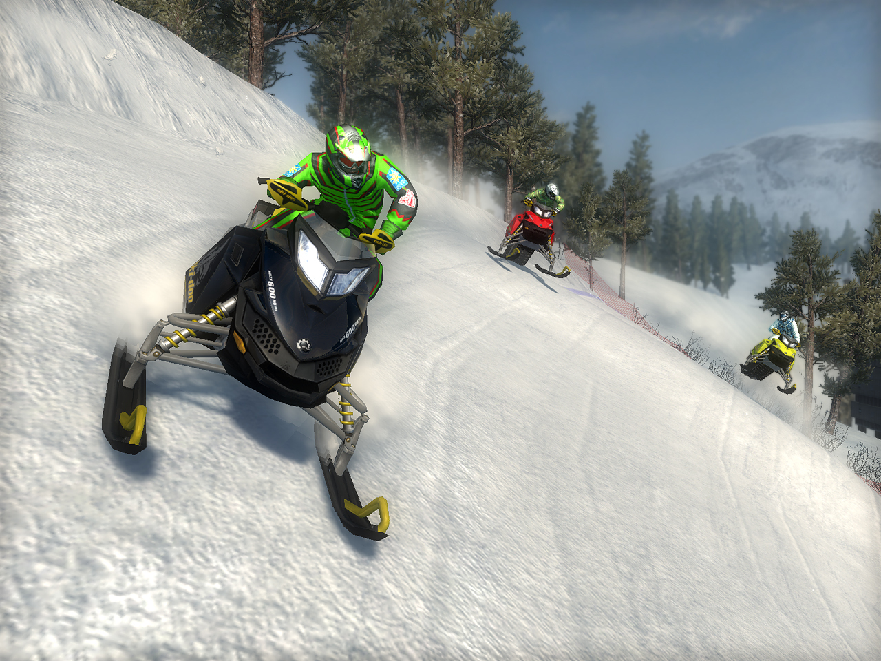 Images Ski Doo : Snowmobile Challenge PlayStation 3 - 11