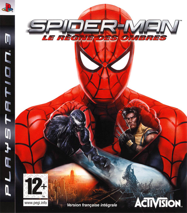 spider man le r gne des ombres sur playstation 3. Black Bedroom Furniture Sets. Home Design Ideas