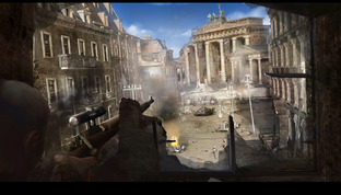Aperçu Sniper Elite V2 PlayStation 3 - Screenshot 1