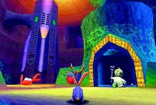 Test Spyro 2 : Gateway to Glimmer PlayStation 3 - Screenshot 7