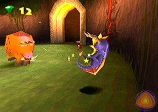 Test Spyro : Year of the Dragon PlayStation 3 - Screenshot 4