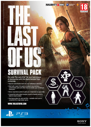The Last of Us : Jaquette et bonus de précommande