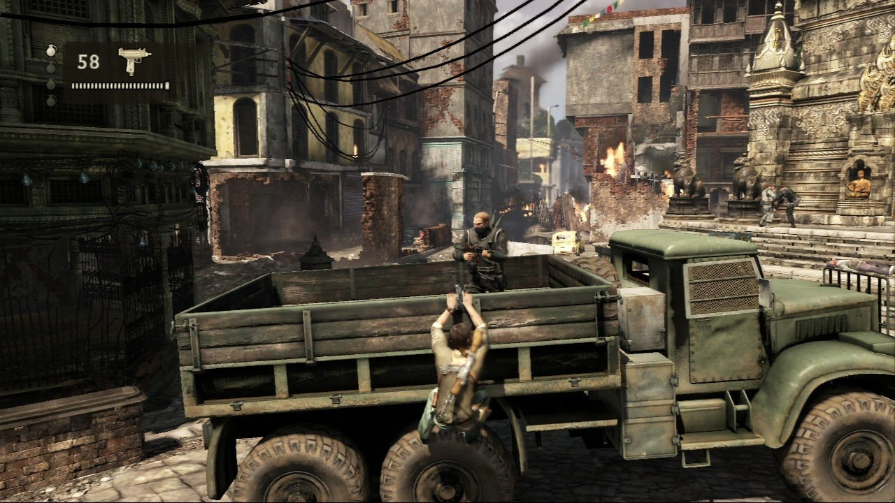 Uncharted 2 : Among Thieves ps3