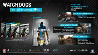 Les éditions Collector de Watch_Dogs