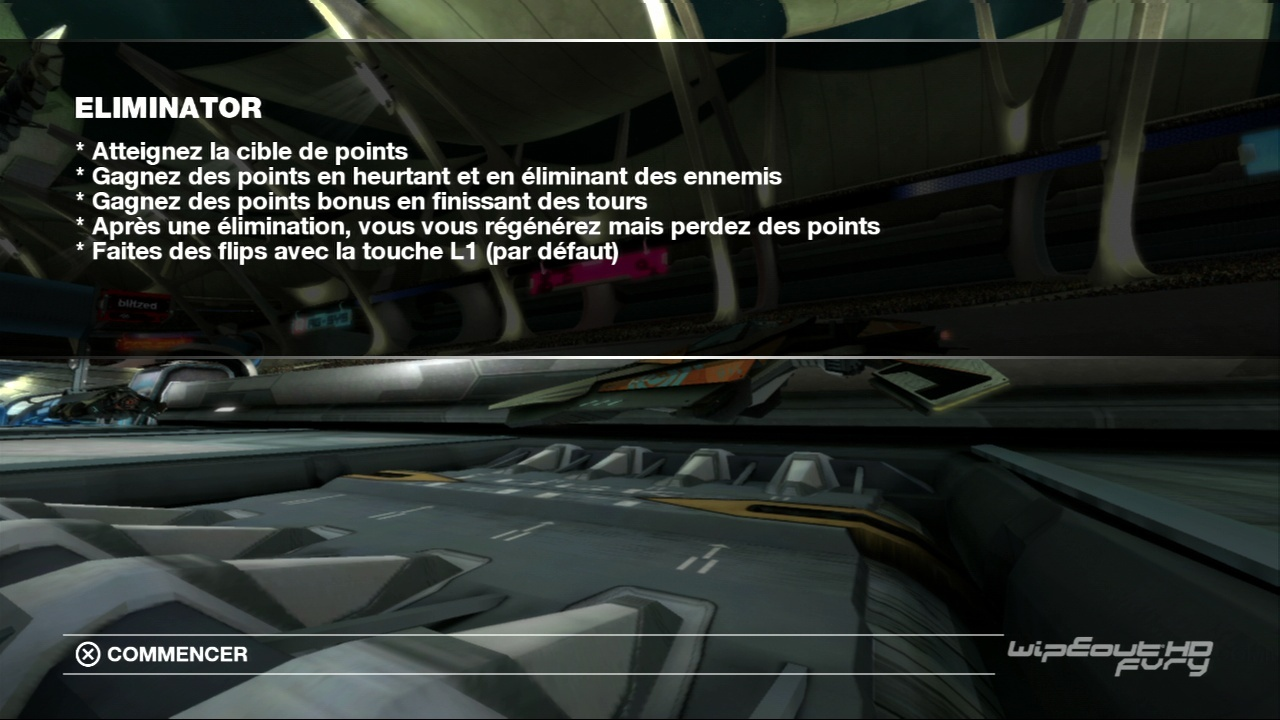 WipEout HD Fury [PS3 - FR] [MEGAUPLOAD]