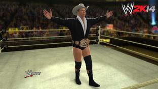 JBL dans le ring de WWE 2K14