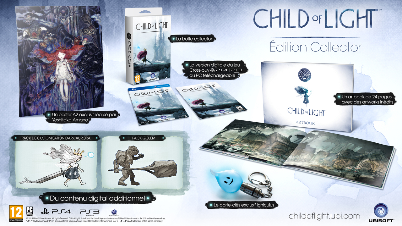 Child of light une dition collector et du cross buy - La xbox one lit elle les jeux xbox 360 ...