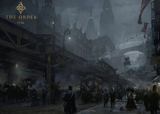 GC 2013 : Des artworks de The Order - 1886