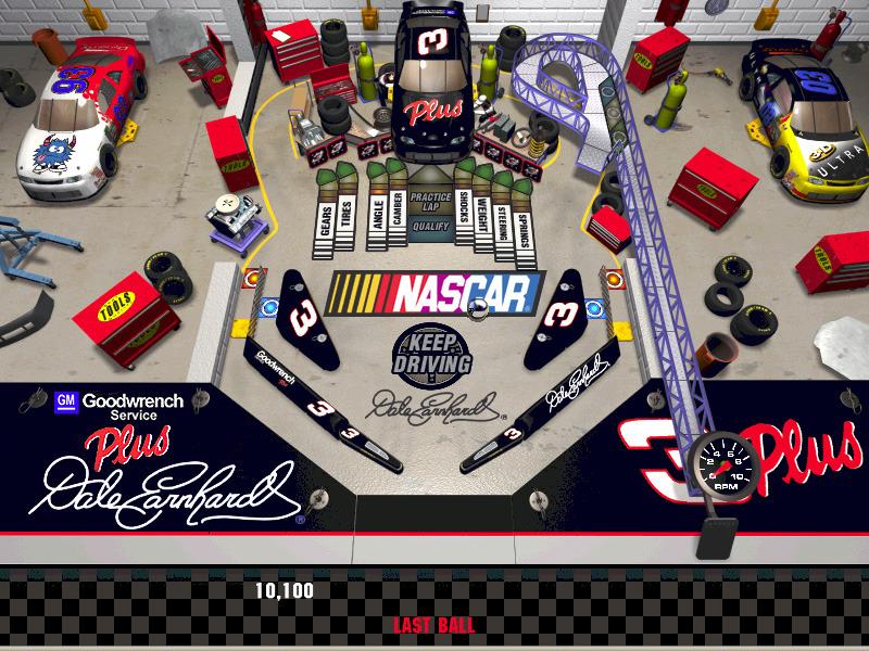 3D Ultra Pinball Turbo racing