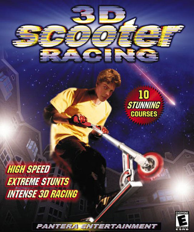 3d scooter racing sur pc. Black Bedroom Furniture Sets. Home Design Ideas
