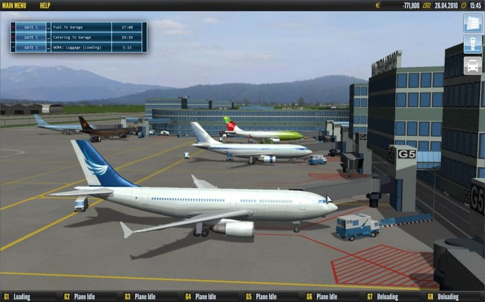 Aéroport Simulator 2011
