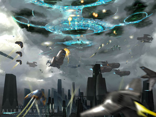 Test Anarchy Online : Alien Invasion PC - Screenshot 1